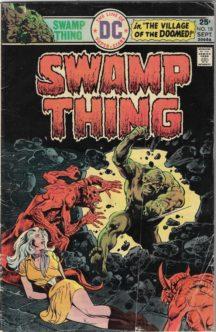 Swamp Thing benzi lot wrighston benzi vechi dc