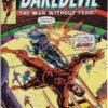 Daredevil prima aparitie Bullseye benzi desenate vechi marvel