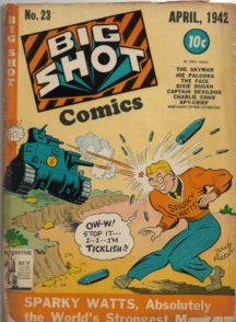 Big Shot Comics benzi desenate vechi al doilea razboi mondial hitler