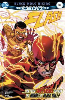 flash dc comics rebirth benzi desenate noi