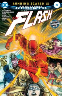 Flash rebirth benzi desenate noi dc comics