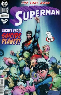 Superman serie benzi desenate comics dc