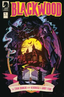 comics dark horse blackwood