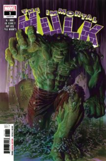 Immortal Hulk marvel benzi desenate noi