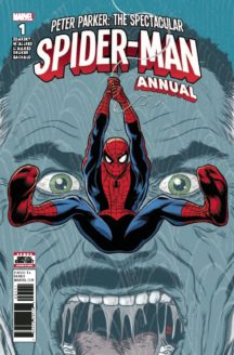 Marvel comics peter parker spectacular spider-man annual