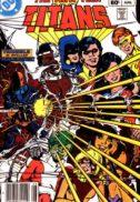 New Teen Titans 34 dc comics benzi vechi