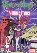 Rick morty vindicators oni press benzi desenate comics