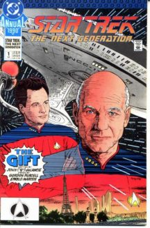 Picard star trek next generation annual