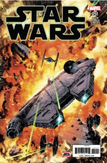 Star Wars millenium falcon comics benzi desenate noi