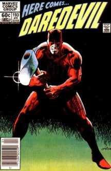 Daredevil marvel benzi comics vechi