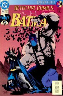Knightfall detective comics batman bane