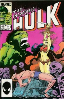 Incredible Hulk marvel comics