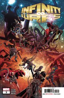Infinity wars marvel comics benzi desenate noi
