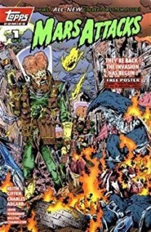 mars attacks benzi desenate comics filme
