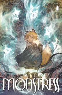 Monstress marjorie liu benzi desenate noi