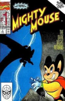 Mighty mouse benzi desenate comic marvel