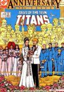 Tales of the teen titans nunta benzi desenate vechi dc