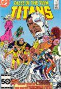 Benzi desenate vechi tales of teen titans cyborg numar cheie