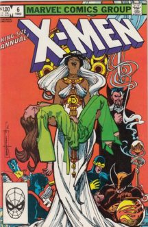 Anuar annual x-men uncanny benzi vechi desenate