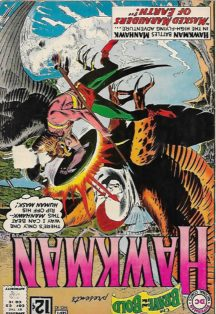 Origine hawkman dc comics brave and bold