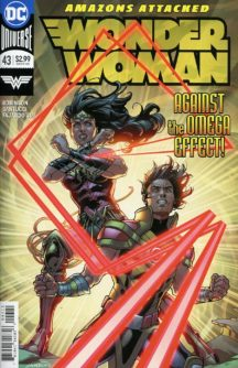 Wonder Woman comics benzi noi dc comics omega