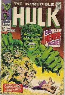 Marvel Hulk benzi desenate vechi origine Hulk comics