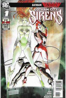 Gotham City Sirens cheie numar dc comics noi