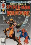 Wolverine Spider-Man benzi desenate vechi cheie marvel team-up