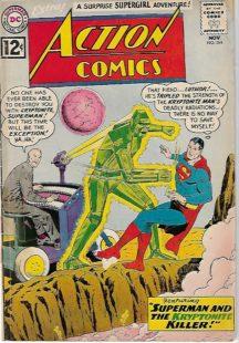 Action comics superman kryptonita Lex Luthor