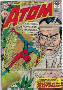 DC Comics the atom benzi desenate prime aparitii