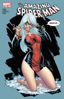 J scott campbell cover amazing spider-man sexy