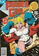 Showcase numar cheie power girl benzi desenate vechi