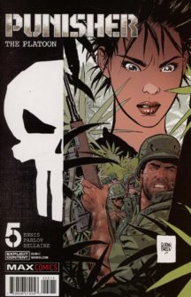 Punisher platoon marvel comics benzi noi