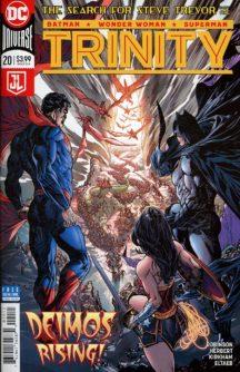 trinity benzi desenate noi superman batman coperte benzi