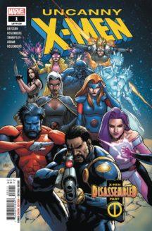 Uncanny X-Men benzi desenate noi marvel comics