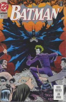 Joker Batman cover dc comics benzi desenate noi