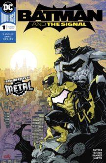 Batman signal dc comics benzi desenate noi