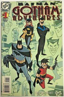 Batman animated gotham adventures harley quinn dc comics
