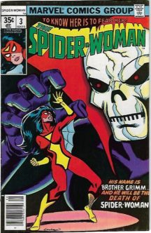 Origine spider-woman marvel benzi desenate vechi