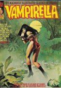 warren vampirella benzi desenate alb-negru magazine size