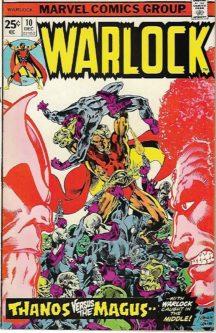 Warlock Gamora Origine Thanos benzi desenate valoroase vechi Marvel