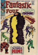 Fantastic Four HIM origine benzi desenate vechi marvel
