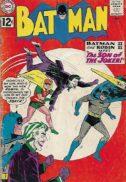 Batman Joker cover dc comics benzi vintage vechi valoroase
