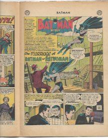 numar cheie batman nunta cu batwoman catwoman dc comics vechi vintage