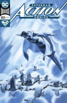 Action comics foil cover superman