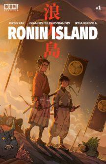 Greg Pak ronin island benzi desenate noi