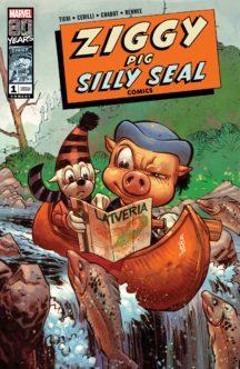 ziggy pig seal comics marvel benzi desenate noi