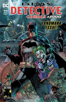 Detective comics 1000 jim lee benzi desenate noi numar gigant