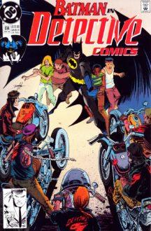 Lot benzi desenate batman detective comics vechi