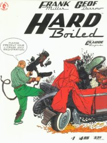 Serial netflix hard boiled dark horse